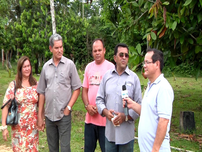Visita ao Pr. Edson Maia em  Santo Antonio do Iça.